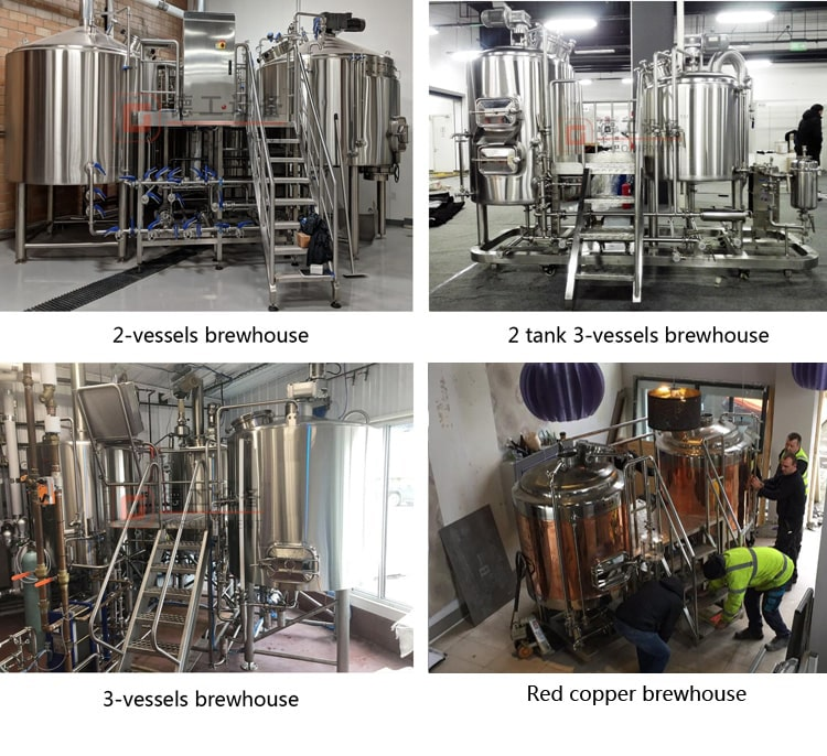 customized beer brewhouse DEGONG produced