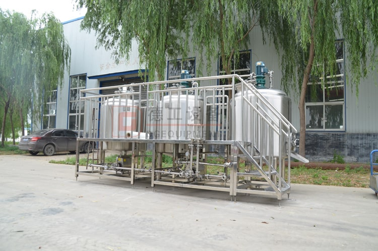 5bbl 3 vessels brewhouse