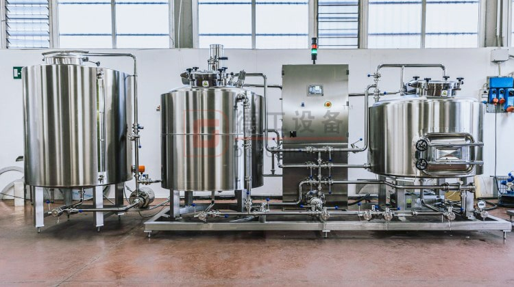 5BBL electric heating beer brewhouse