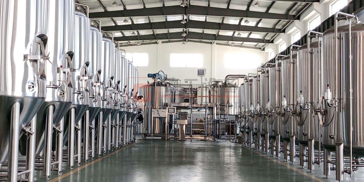 complete 1000L brewing equipment