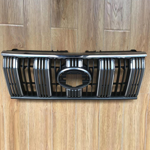 Plastic Auto Parts, New Grille Grey for Land Cruiser Prado 2018