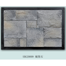 Multicolor wall castal stone tile ledgestone panel natural culture stone