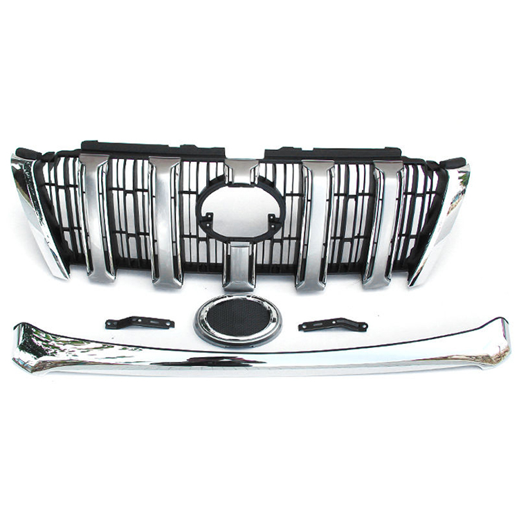 Auto Grille, New Grille Chrome for Land Cruiser Prado 2014
