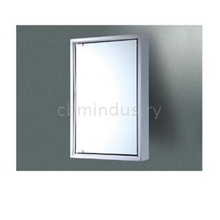 Stainless steel LED Mirror cabinet