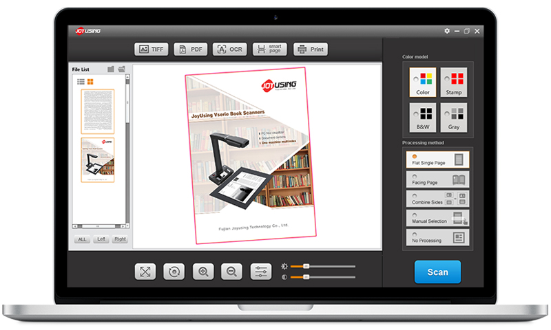 Exclusive Image Processing Software For Book Scanner