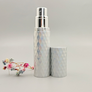 Customized empty aluminum perfume atomizer spray bottle with different colors