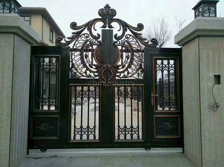 Wrought Iron garden Gate for house/villa/appartment