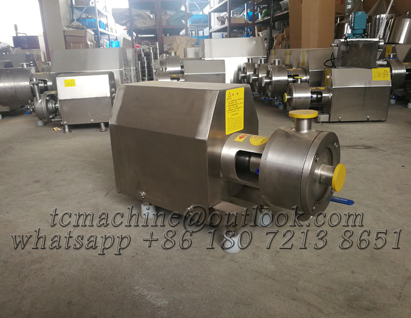 High Shear In-Line Mixer / emulsion pump