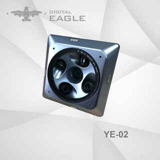 YE-02 New Designed Five Lens Oblique Camera for Aerial Mapping And Survey