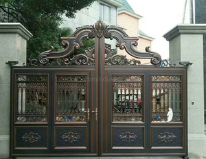Hot sale garden gate wrought iron new design
