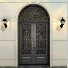 Wrought Iron Entry Gate Design