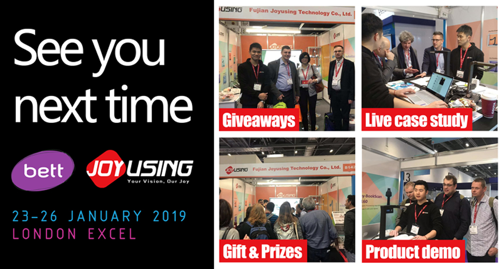 Joyusing makes show on BETT 2019 LONDON