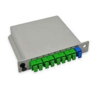 Fiber Optic CARD TYPE PLC 1X8 Splitter