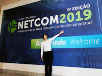 Tuolima participated NETCOM 2019 Brazil in August