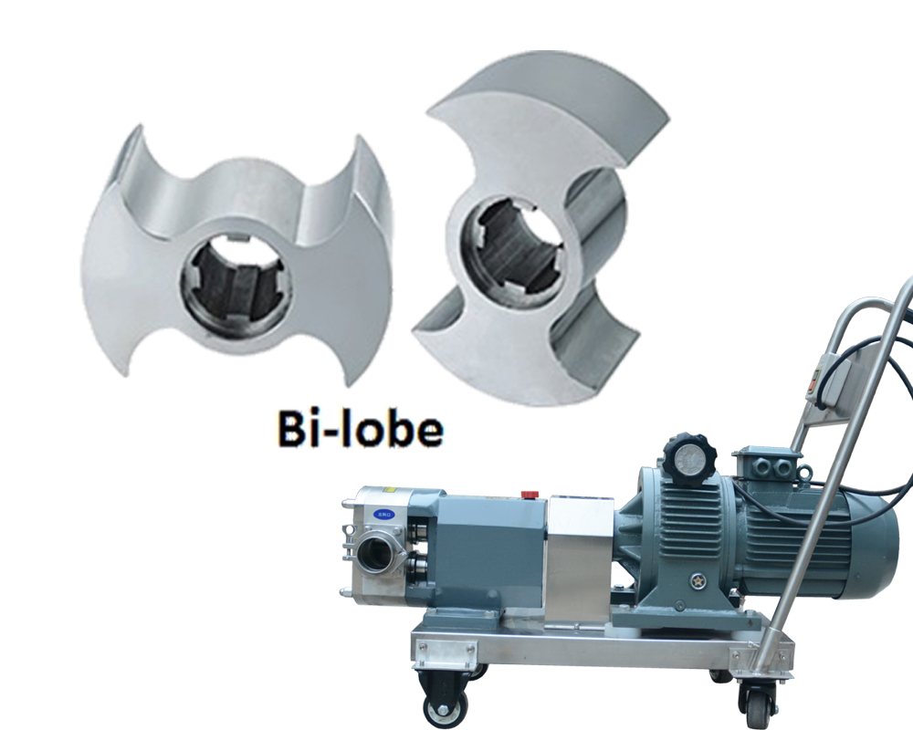 movable lobe pump 1HP~10HP