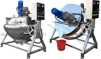 Electric Heating Jacketed Kettle with High Shear Mixer