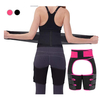 Waist Trainer for Women, Shaping Thigh Shaper Waist, Workout Fitness Thigh Trimmer Waist Butt Lifter Shaping Training Ultra Light Thigh Support Adjustable Shapewear