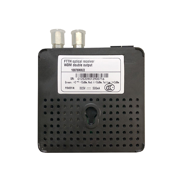 TLM-10076WX-2 2RF Optical Receiver with WDM